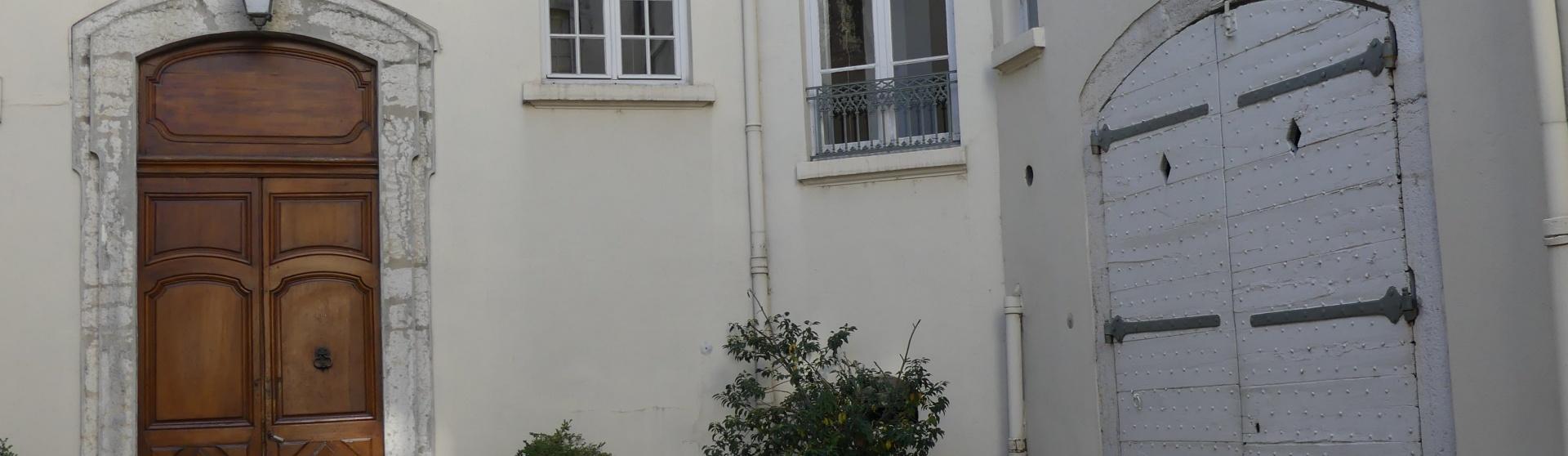 Appartement d'exception avec grand jardin Lyon coeur d'Ainay