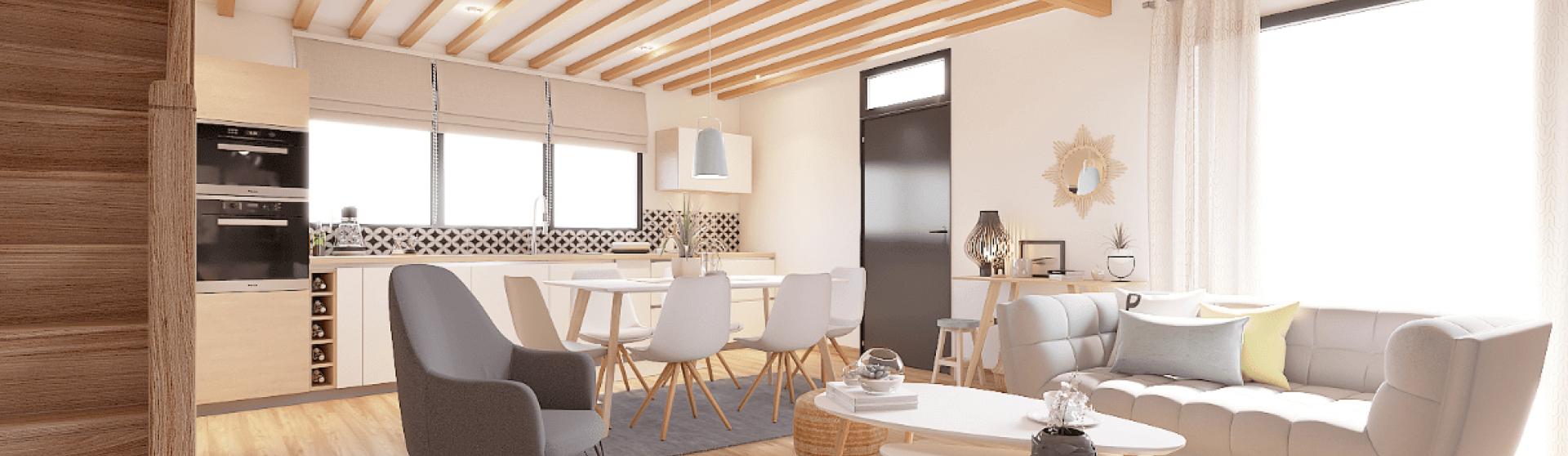 Plateau à rénover à vendre Ste-Euphémie (Ain) - 105 m² / VENDU